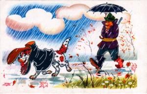 охотник и собака