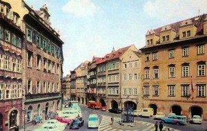 Прага. Малостранская площадь.